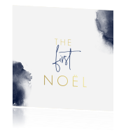 The first Noel | kerstkaart