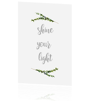 Christmas | Shine your light