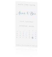 Chic | Save the date met kalender