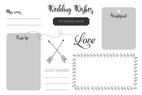 Gastenboek | Wedding Wishes