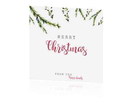 Christmas green | kerstkaart