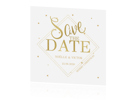 Christmas CHIC! | Save the date kerstkaart