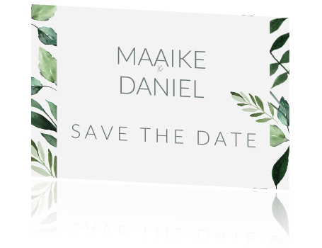 Botanische save the date