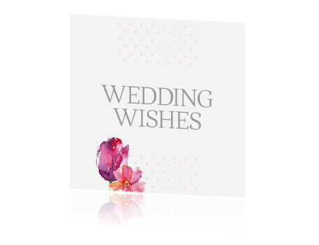 Stipjes en  bloemen | Wedding Wishes